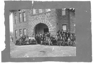 Primary view of object titled '[Weatherford College students, c. 1890]'.