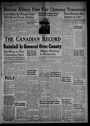 The Canadian Record (Canadian, Tex.), Vol. 66, No. 39, Ed. 1 Thursday, September 29, 1955