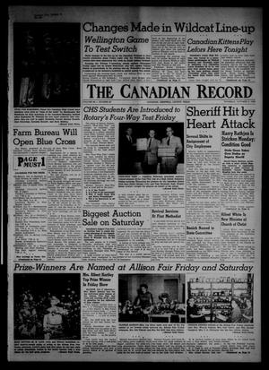 Primary view of object titled 'The Canadian Record (Canadian, Tex.), Vol. 66, No. 40, Ed. 1 Thursday, October 6, 1955'.
