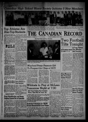 Primary view of object titled 'The Canadian Record (Canadian, Tex.), Vol. 66, No. 42, Ed. 1 Thursday, October 20, 1955'.