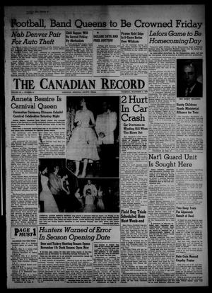 Primary view of object titled 'The Canadian Record (Canadian, Tex.), Vol. 66, No. 44, Ed. 1 Thursday, November 3, 1955'.