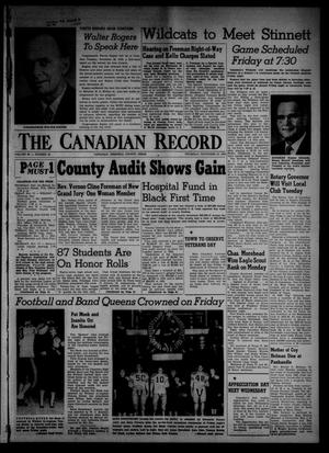 Primary view of object titled 'The Canadian Record (Canadian, Tex.), Vol. 66, No. 45, Ed. 1 Thursday, November 10, 1955'.