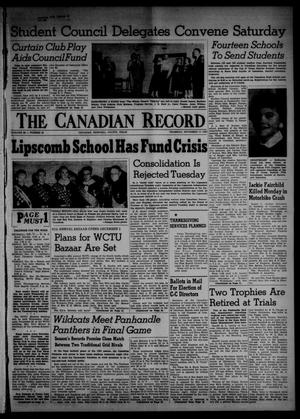 The Canadian Record (Canadian, Tex.), Vol. 66, No. 46, Ed. 1 Thursday, November 17, 1955