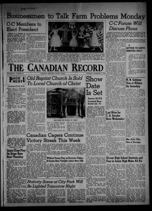 Primary view of object titled 'The Canadian Record (Canadian, Tex.), Vol. 66, No. 49, Ed. 1 Thursday, December 8, 1955'.