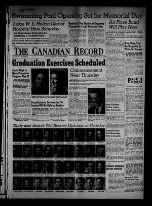 Primary view of object titled 'The Canadian Record (Canadian, Tex.), Vol. 67, No. 20, Ed. 1 Thursday, May 17, 1956'.