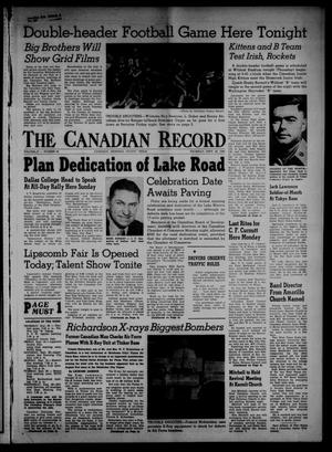 The Canadian Record (Canadian, Tex.), Vol. 67, No. 38, Ed. 1 Thursday, September 20, 1956
