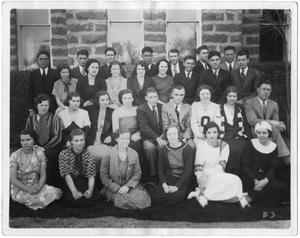 [Weatherford College class picture #1, c. 1930]