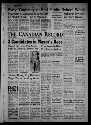Primary view of object titled 'The Canadian Record (Canadian, Tex.), Vol. 68, No. 9, Ed. 1 Thursday, February 28, 1957'.