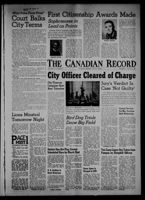 Primary view of object titled 'The Canadian Record (Canadian, Tex.), Vol. 68, No. 11, Ed. 1 Thursday, March 14, 1957'.