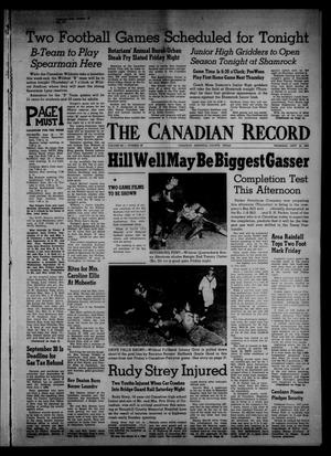 The Canadian Record (Canadian, Tex.), Vol. 68, No. 38, Ed. 1 Thursday, September 19, 1957