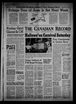 Primary view of object titled 'The Canadian Record (Canadian, Tex.), Vol. 68, No. 43, Ed. 1 Thursday, October 24, 1957'.