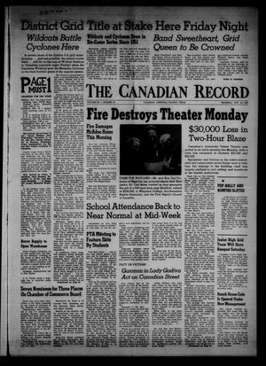 Primary view of object titled 'The Canadian Record (Canadian, Tex.), Vol. 68, No. 46, Ed. 1 Thursday, November 14, 1957'.