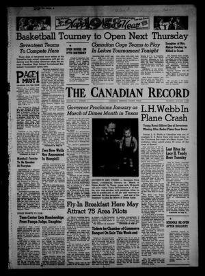 Primary view of object titled 'The Canadian Record (Canadian, Tex.), Vol. 69, No. 1, Ed. 1 Thursday, January 2, 1958'.