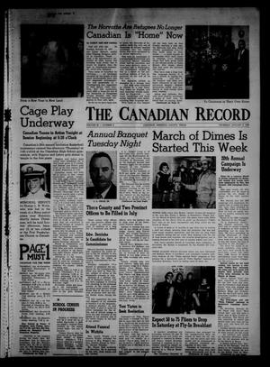 Primary view of object titled 'The Canadian Record (Canadian, Tex.), Vol. 69, No. 2, Ed. 1 Thursday, January 9, 1958'.