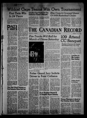 The Canadian Record (Canadian, Tex.), Vol. 69, No. 3, Ed. 1 Thursday, January 16, 1958
