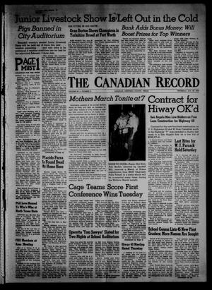 The Canadian Record (Canadian, Tex.), Vol. 69, No. 5, Ed. 1 Thursday, January 30, 1958
