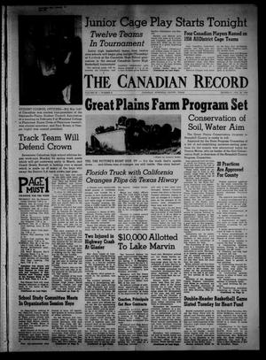 The Canadian Record (Canadian, Tex.), Vol. 69, No. 8, Ed. 1 Thursday, February 20, 1958