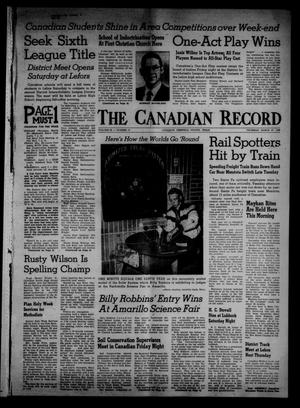 Primary view of object titled 'The Canadian Record (Canadian, Tex.), Vol. 69, No. 13, Ed. 1 Thursday, March 27, 1958'.
