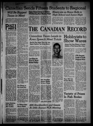 Primary view of object titled 'The Canadian Record (Canadian, Tex.), Vol. 69, No. 16, Ed. 1 Thursday, April 17, 1958'.