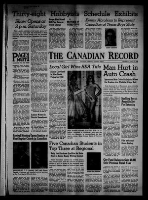 Primary view of object titled 'The Canadian Record (Canadian, Tex.), Vol. 69, No. 17, Ed. 1 Thursday, April 24, 1958'.