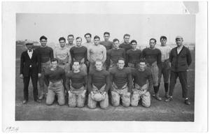 Primary view of object titled '[Weatherford College Football Team, 1924]'.