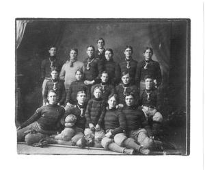 Primary view of object titled '[Weatherford College Football Team, 1904, #2]'.