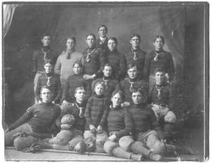 Primary view of object titled '[Weatherford College Football Team, 1904, #1]'.