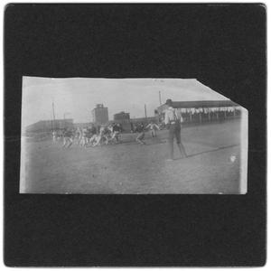 [Weatherford College football game, 1900]