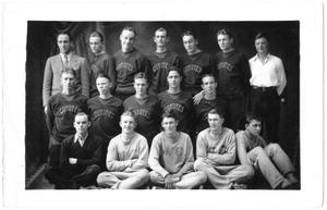 Primary view of object titled '[c. 1930 Weatherford College Boys' Basketball Team]'.