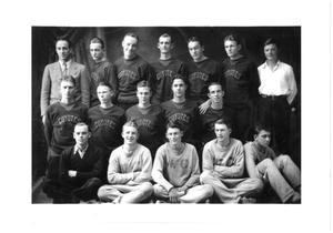 [Weatherford College Boys' Basketball Team, c. 1930]