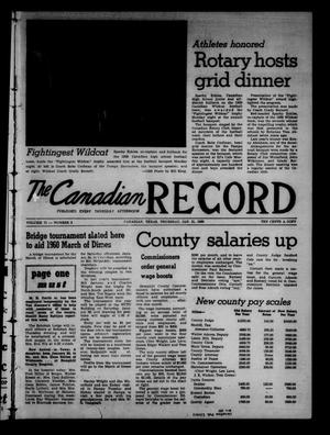 The Canadian Record (Canadian, Tex.), Vol. 71, No. 3, Ed. 1 Thursday, January 21, 1960