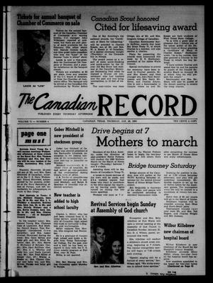Primary view of object titled 'The Canadian Record (Canadian, Tex.), Vol. 71, No. 4, Ed. 1 Thursday, January 28, 1960'.