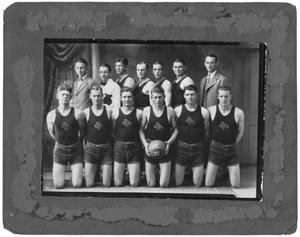 Primary view of object titled '[1928 Weatherford College Boys' Basketball Team]'.