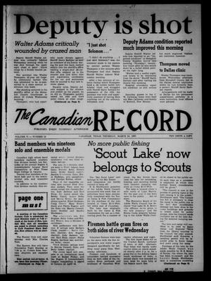 The Canadian Record (Canadian, Tex.), Vol. 71, No. 12, Ed. 1 Thursday, March 24, 1960