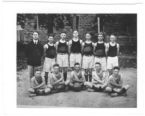 Primary view of object titled '[1921 Weatherford College Boys' Basketball Team]'.