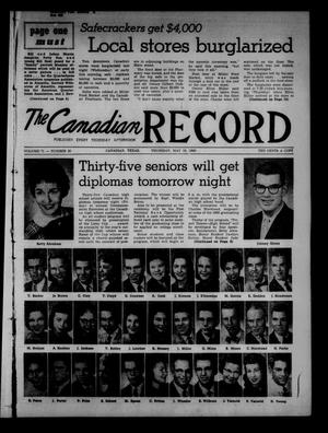 Primary view of object titled 'The Canadian Record (Canadian, Tex.), Vol. 71, No. 20, Ed. 1 Thursday, May 19, 1960'.