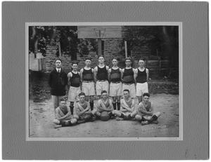 Primary view of object titled '[1920 Weatherford College Boys' Basketball Team]'.