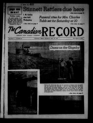Primary view of object titled 'The Canadian Record (Canadian, Tex.), Vol. 71, No. 38, Ed. 1 Thursday, September 22, 1960'.