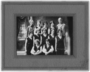Primary view of object titled '[1926 Weatherford College Girls' Basketball Team]'.