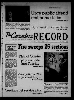 The Canadian Record (Canadian, Tex.), Vol. 73, No. 10, Ed. 1 Thursday, March 8, 1962