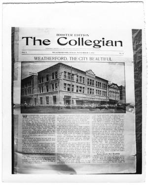 Primary view of object titled '[The Collegian (Newspaper)]'.