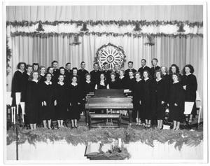 Primary view of object titled '[Weatherford College Chorus, c. 1946-7]'.