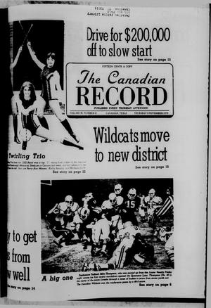 Primary view of object titled 'The Canadian Record (Canadian, Tex.), Vol. 90, No. 45, Ed. 1 Thursday, November 8, 1979'.