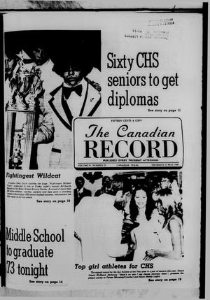 Primary view of object titled 'The Canadian Record (Canadian, Tex.), Vol. 91, No. 20, Ed. 1 Thursday, May 15, 1980'.