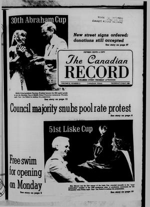 Primary view of object titled 'The Canadian Record (Canadian, Tex.), Vol. 91, No. 21, Ed. 1 Thursday, May 22, 1980'.