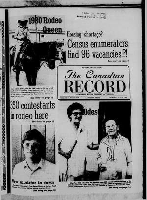 The Canadian Record (Canadian, Tex.), Vol. 91, No. 28, Ed. 1 Thursday, July 10, 1980