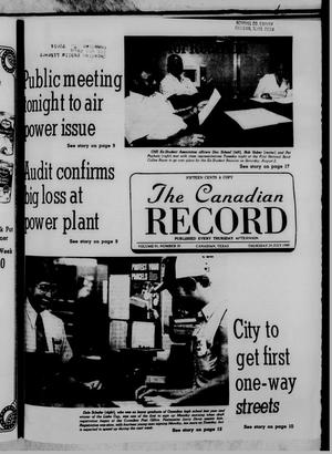 Primary view of object titled 'The Canadian Record (Canadian, Tex.), Vol. 91, No. 30, Ed. 1 Thursday, July 24, 1980'.