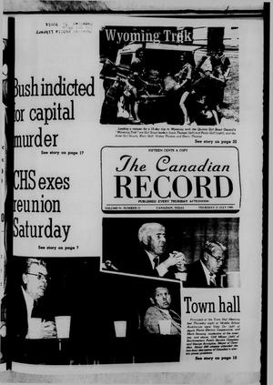 The Canadian Record (Canadian, Tex.), Vol. 91, No. 31, Ed. 1 Thursday, July 31, 1980