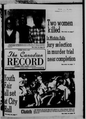 Primary view of object titled 'The Canadian Record (Canadian, Tex.), Vol. 91, No. 41, Ed. 1 Thursday, October 9, 1980'.
