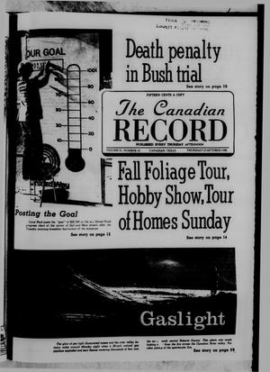 Primary view of object titled 'The Canadian Record (Canadian, Tex.), Vol. 91, No. 43, Ed. 1 Thursday, October 23, 1980'.